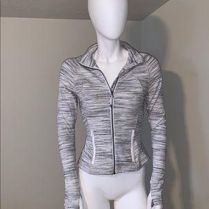 Lululemon athletica black space dyed jacket size 2